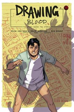 Drawing Blood Splilled Ink 4 Issue Miniseries