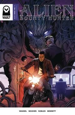 Alien Bounty Hunter (5-issue miniseries)