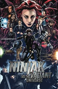 Ninjak Vs Vu (4-issue mini-series)