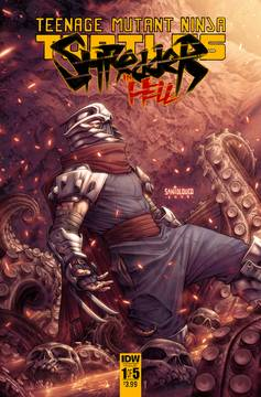 Tmnt Shredder In Hell