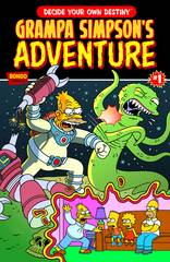 Grampa Simpsons Choose Your Own Adventure