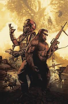 Planet of Apes Simian Age