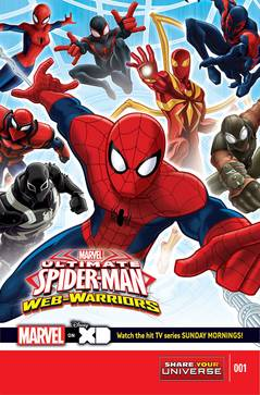 Marvel Universe Ult Spider-Man Web Warriors