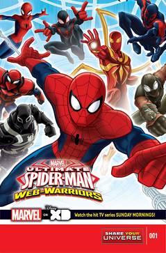 Marvel Universe Ult Spider-Man Web Warriors