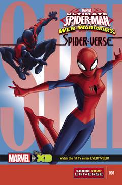 Marvel Universe Ult Spider-Man Spider-Verse (4-issue mini-series)