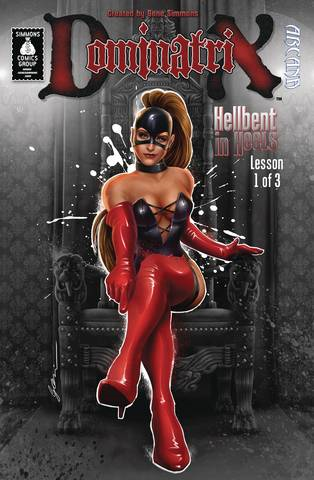 Gene Simmons Dominatrix Hellbent In Heels (3-issue mini-series)