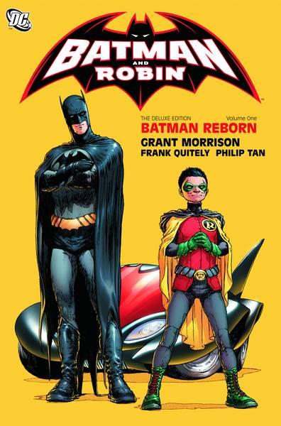 BATMAN AND ROBIN DELUXE HC VOL 01 BATMAN REBORN