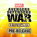 "Heroclix ""Avengers/Defenders War"" 3-booster Pre-Release Tournament (4/27/2017 at 6:30 pm)"