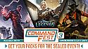 Magic CommandFest Sealed Packs (for Online Tournament, 11/28-11/29)